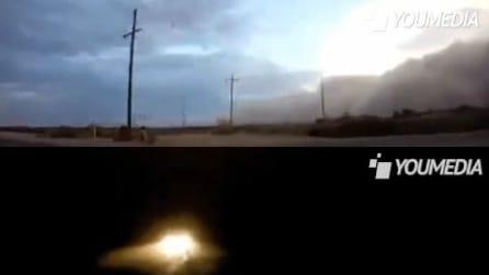 Dal giorno alla notte in pochi secondi: tempesta di sabbia in Australia