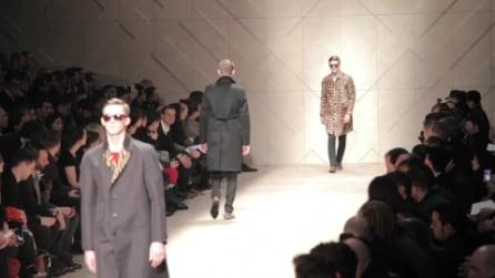 Collezione uomo Burberry Prorsum Autunno Inverno 2013/14 Milano fashion week