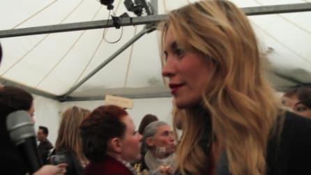 Elenoire Casalegno commenta la sfilata di Vivienne Westwood | Backstage Milano Moda Uomo 2013-14