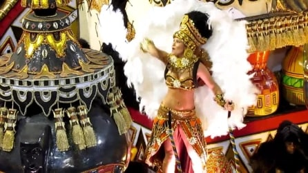Le ballerine del Carnevale di Rio