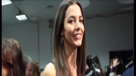 L'arma di seduzione secondo Laura Barriales (Intervista) | Backstage Elena Mirò Fashion Show 2013