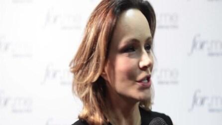 Francesca Neri racconta la sua idea di bellezza (Intervista) | Backstage Elena Mirò fashion show 2013