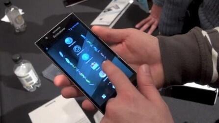 Lenovo K900 - Mobile World Congress