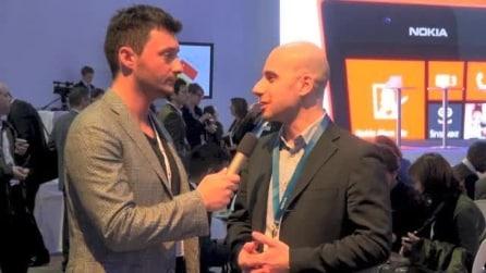 Nokia Press Conference 2013 ed intervista a Francesco Falco di Nokia Italia