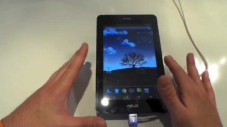 Anteprima Asus Fonepad - Mobile World Congress 2013