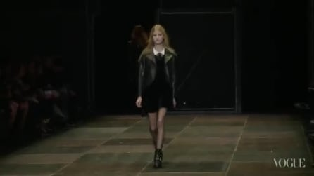 Saint Laurent Paris sfilata Autunno/Inverno 2013-14