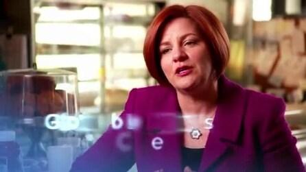 La presentazione della candidatura a sindaco di New York di Christine Quinn
