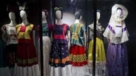 Una mostra racconta Frida Kahlo attraverso gli abiti