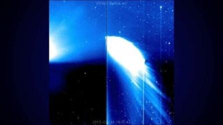 La cometa Panstarrs tra Sole e Terra