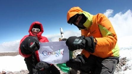 Google Street View Mountain Enthusiastic