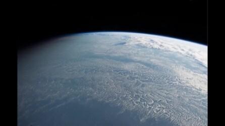 Passaggio sopra il Terminatore Terrestre, visto dalla Stazione Spaziale Internazionale