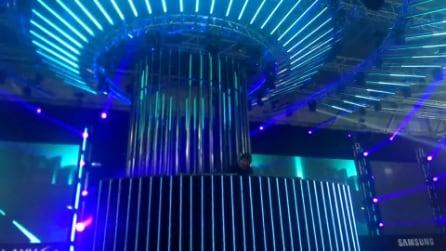 Presentazione Galaxy S4 con Benny Benassi Live @ SpazioStudioPiù - Milano