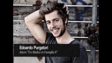 """Edoardo Purgatori: """"Emiliano adora Anna ma vuole allontanarla dalla sua vita"""""""