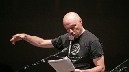 Paolo Nori al concerto del 1° maggio