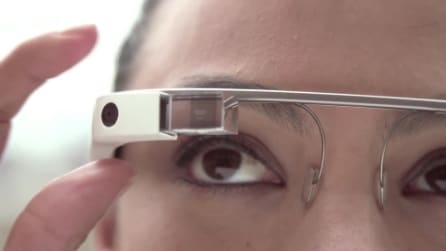 L'interfaccia dei Google Glass