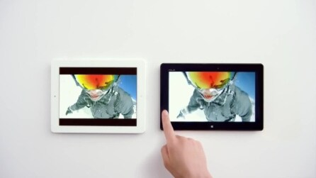Spot Microsft: iPad vs Surface