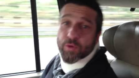 Edoardo Stoppa aggredito: spiega in questo suo video cos'è successo