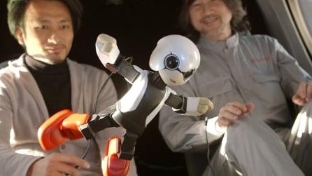 Ecco il primo robot parlante nello Spazio