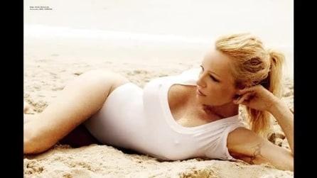 Pamela Anderson sexy su Vogue Brazil