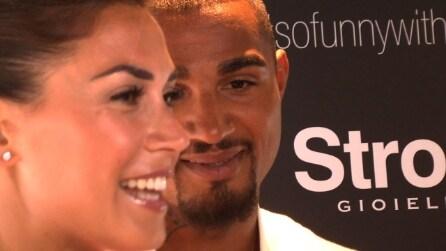 """Melissa Satta e Boateng: """"Kevin mi ha regalato l'anello"""""""