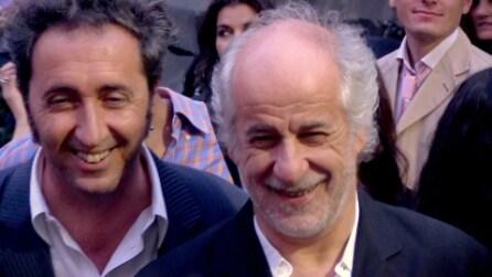Servillo e Sorrentino al cinema, guardano il loro film come comuni spettatori