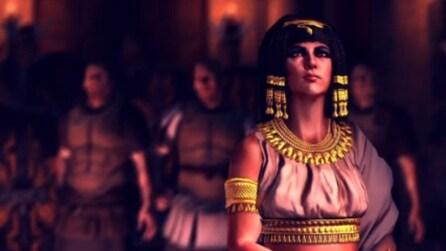 Total War: Rome II, il trailer dedicato a Cleopatra
