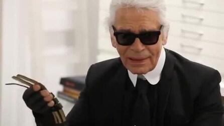 Il backstage della campagna eyewear 2013 di Karl Lagerfeld