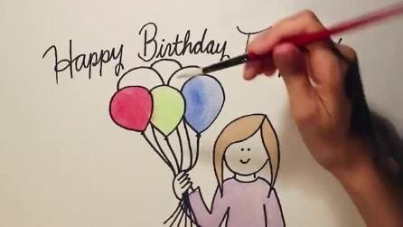 """La celebre canzone """"Happy Birthday To You"""""""