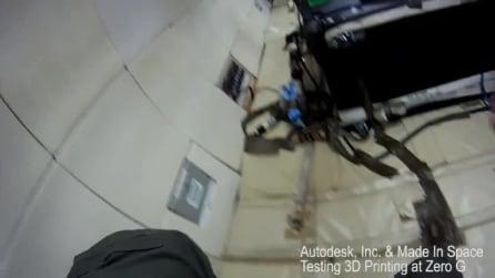 Stampa 3D nello spazio e Houston interviene via file