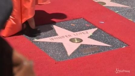 Walk of Fame - Stella n° 2500 per Jennifer Lopez