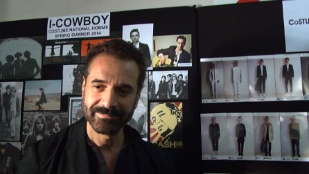 Intervista ad Ennio Capasa nel backstage di CoSTUME NATIONAL