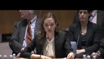 Angelina Jolie chiede all'Onu di combattere gli stupri