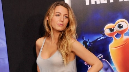 "Sexy look per Blake Lively sul red carpet di ""Turbo"""