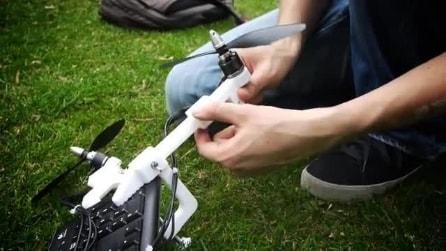 Drone it yourself: il Kit per far volare gli oggetti