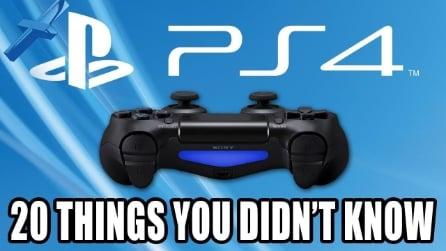 20 cose che non sapevate su PS4