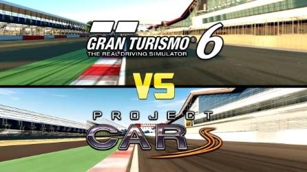 Videoconfronto Gran Turismo 6 vs Project Cars