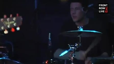 Bonnie Dune - live di Better View con Cory Monteith (Glee) alla batteria