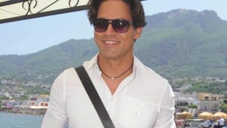 Gabriel Garko arriva all'Ischia Global Fest 2013