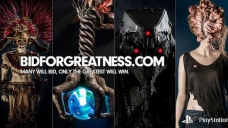 Trailer Bid For Greatness, il sito d'aste di Sony