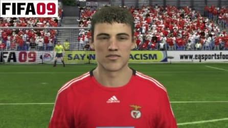 David LUIZ da FIFA 08 a FIFA 13