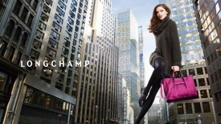 "Coco Rocha per Longchamp, il Making Of del video ""Bigger than life"""
