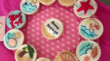 Cake design: il tutorial per realizzare i cupcake estivi