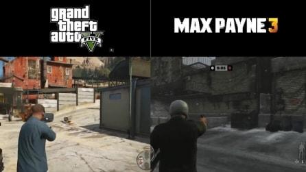 GTA 5 vs Max Payne 3: Il sistema di combattimento a confronto