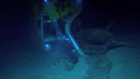 I motori dell'Apollo 11 ritrovati da Bezos