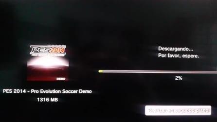 La demo di PES 2014 scaricabile dal PSN per errore