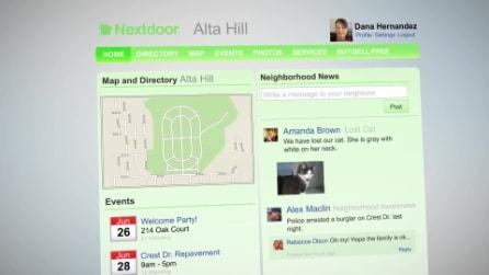 Nextdoor: il social network per i vicini di casa