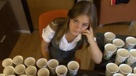 Il caffè si spruzza come se fosse un profumo