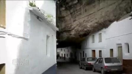 Setenil de las Bodegas, la città sotto la roccia