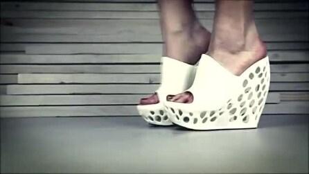 La stampante 3D per creare le scarpe in casa