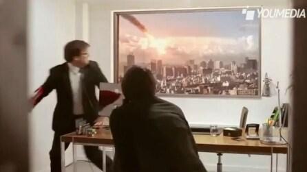 LG Ultra Reality: lo spaventoso spot candid camera di LG per le tv UltraHD